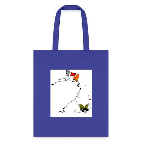 Lady Climber - Tote Bag