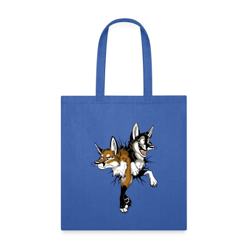 STUCK Foxes (double-sided) - Tote Bag