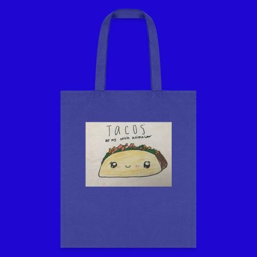 Tacos are my Spirit Animal - Tote Bag