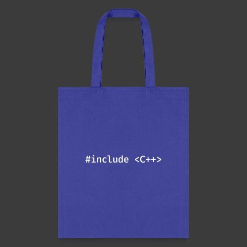 White Include Logo - Tote Bag