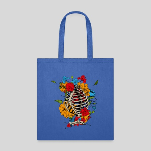 Flowers in my chest - Tote Bag