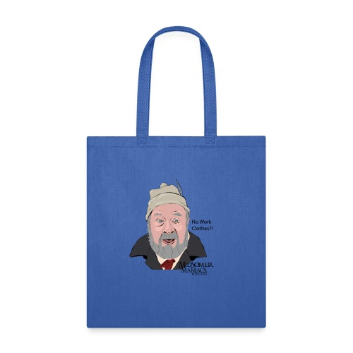 Midsomer Maniacs Podcast - Benbow dark text - Tote Bag