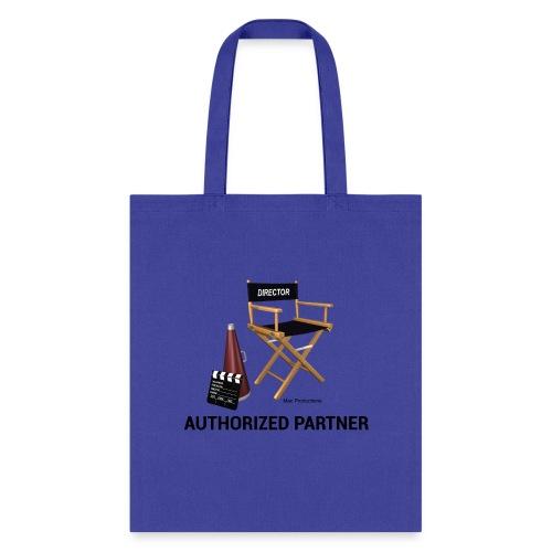 Mac Productions Authorized Partner Logo - Tote Bag