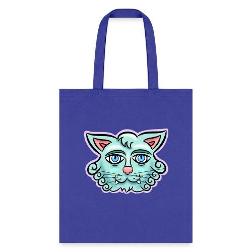 Happy Cat Teal - Tote Bag