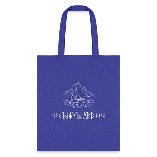 The Wayward Life White Logo - Tote Bag