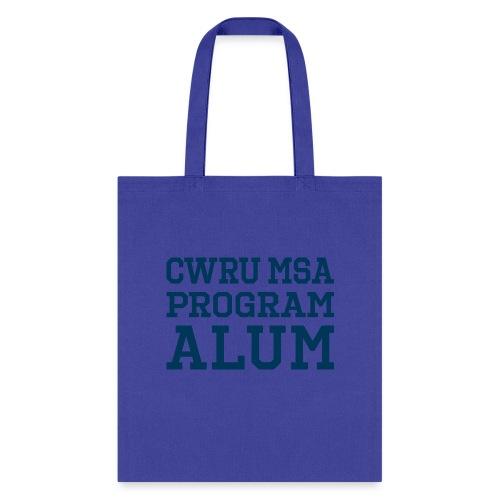 CWRU MSA Program Alum - Tote Bag