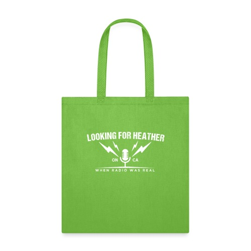 Looking For Heather - When Radio Was Real (White) - Tote Bag