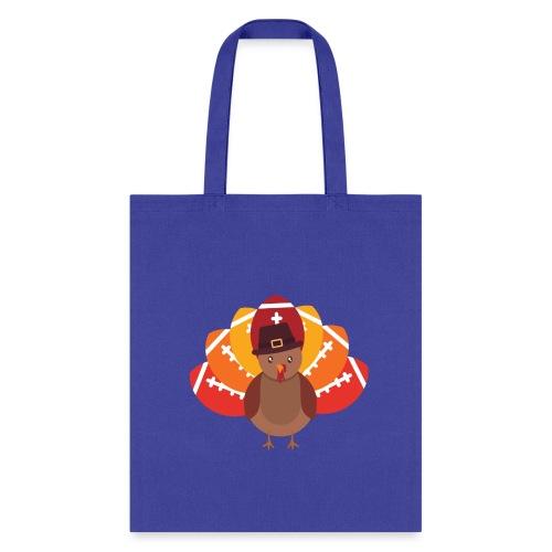 Funny Turkey Football - Tote Bag