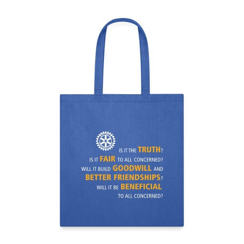 Four Way Test - Tote Bag
