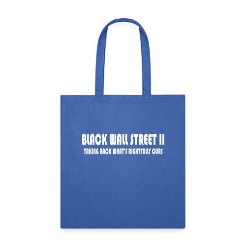 BWSII white - Tote Bag