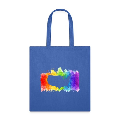 Pride Rainbow Map USA - Tote Bag