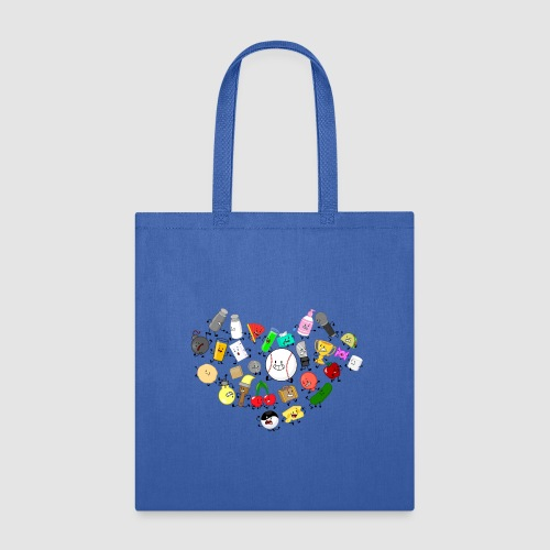 Inanimate Heart Color - Tote Bag