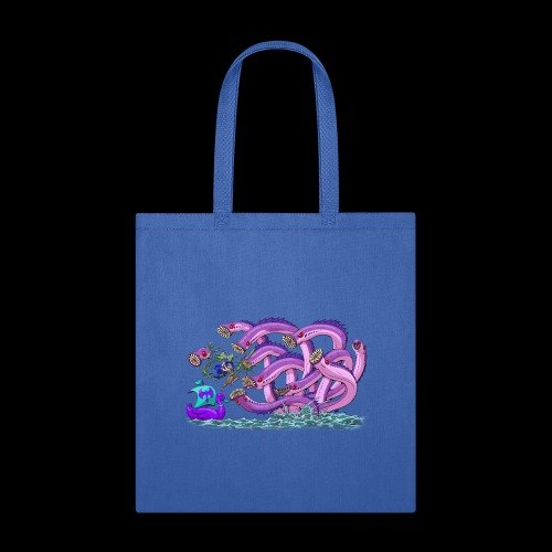 Axel The Mighty and the Lamprey Hydra - Tote Bag
