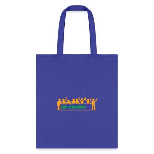 in crowd orange - Tote Bag