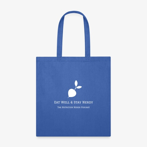 Eat Well & Stay Nerdy with Radish - Tote Bag