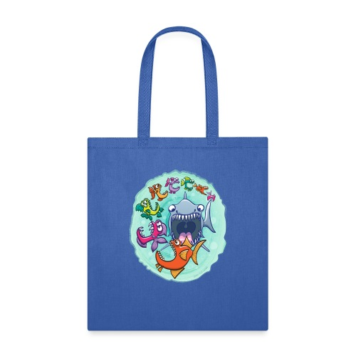 Big fish eat little fish and vice versa - Tote Bag