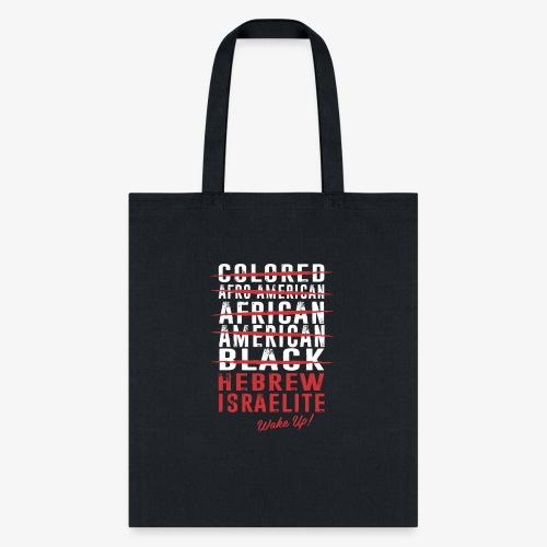 Hebrew Israelite - Tote Bag