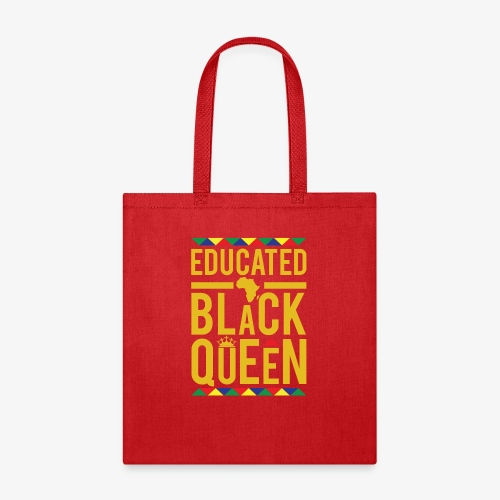 Educated Black Queen - Tote Bag