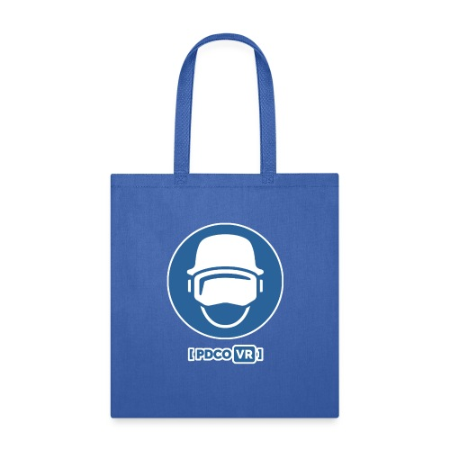 PDCO Logo - White Outlined - Tote Bag