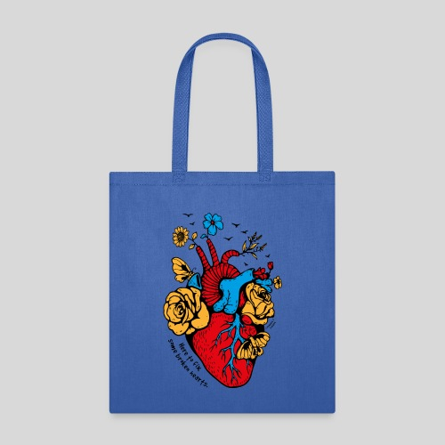 A beautiful heart - Tote Bag