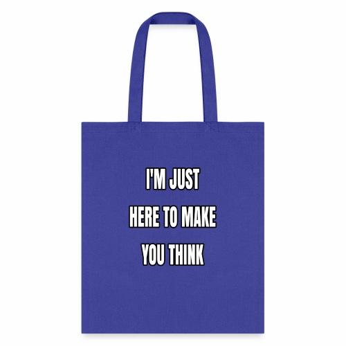 IJHTMYT (White Font) - Tote Bag