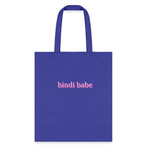 bindi babe - Tote Bag