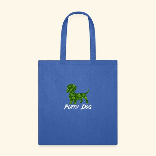PUFFY DOG - PRESENT FOR SMOKING DOGLOVER - Tote Bag