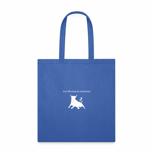 Bullpenis Awesome Shirt (White) - Tote Bag