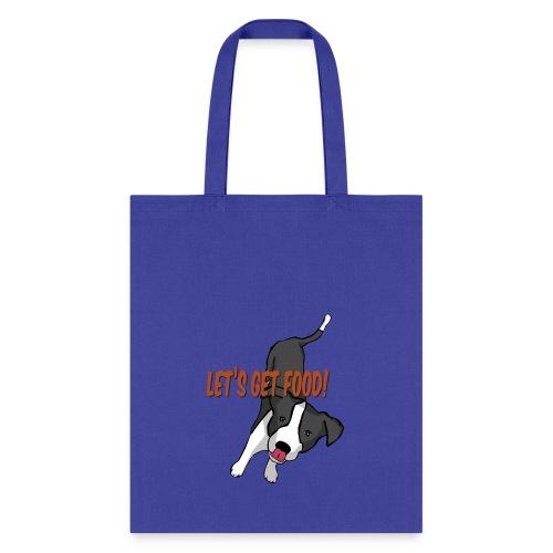 Foodie Dog Border Collie - Tote Bag