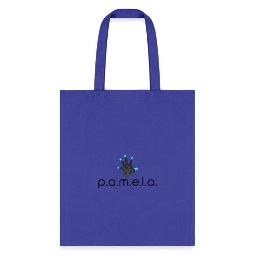 P.A.M.E.L.A. Logo Black - Tote Bag