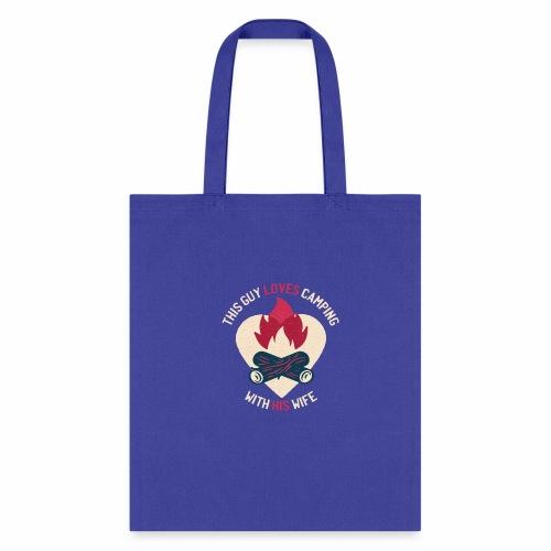 Camping tshirt02 HQ 01 - Tote Bag