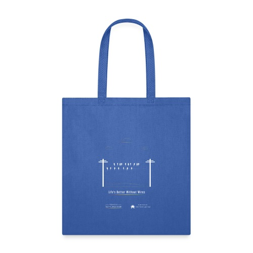 Life's better without wires: Birds - SELF - Tote Bag