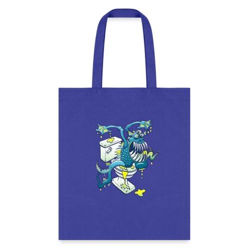 Toilet Monster - Tote Bag