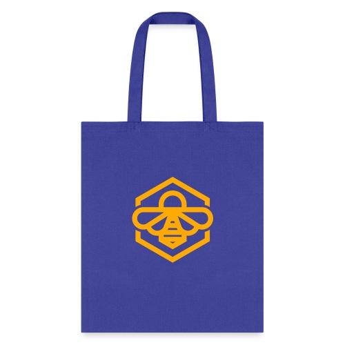 bee symbol orange - Tote Bag