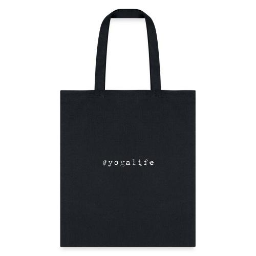 Yogalife Hastag Design - Tote Bag
