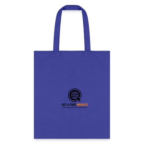 Get A Free Website - Tote Bag