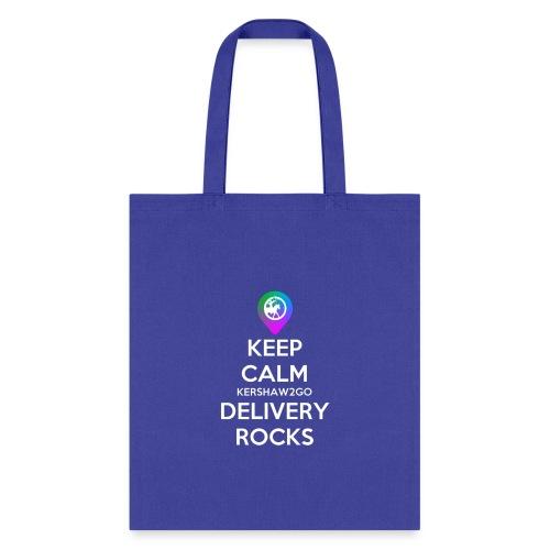 Keep Calm KC2Go Delivery Rocks - Tote Bag