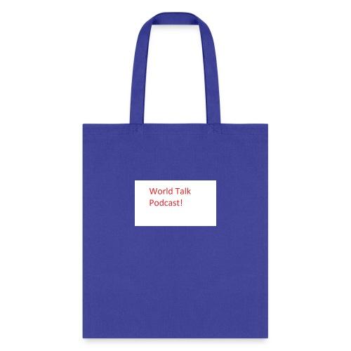 World Talk Merch - Tote Bag