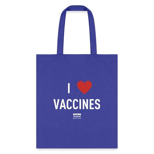 I heart vaccines Immunize Colorado Logo 1 - Tote Bag
