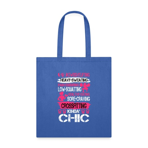 CrossFitting Chic - Tote Bag