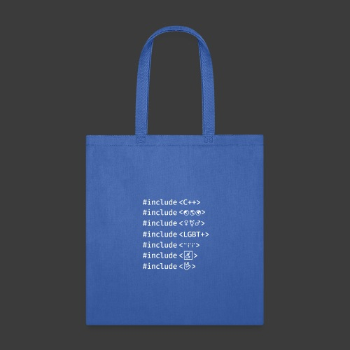Include List (Dark Background) - Tote Bag