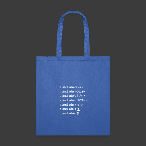 White Include List - Tote Bag