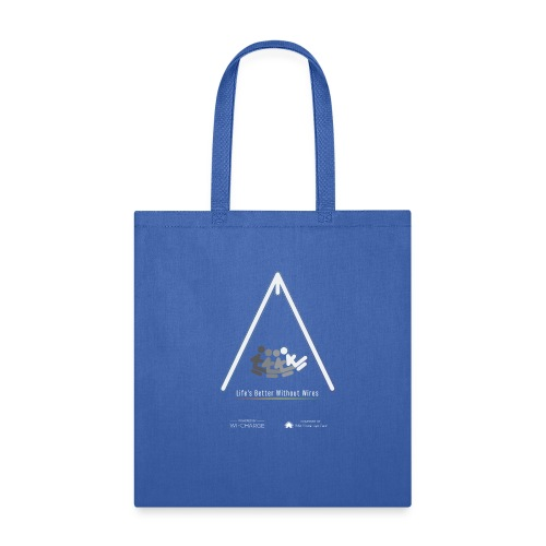 Life's better without wires: Swing - SELF - Tote Bag