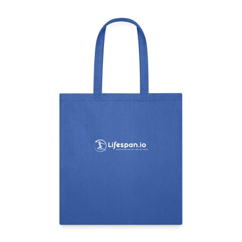 Lifespan.io in white 2021 - Tote Bag