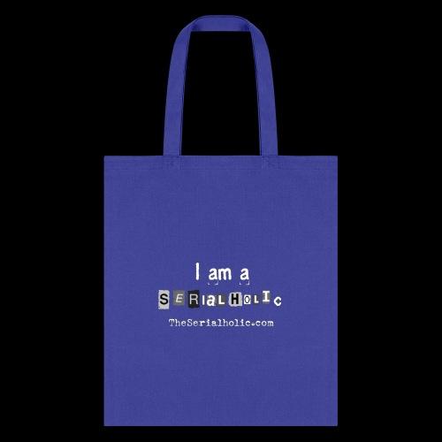 White Serialholic Logo - Tote Bag