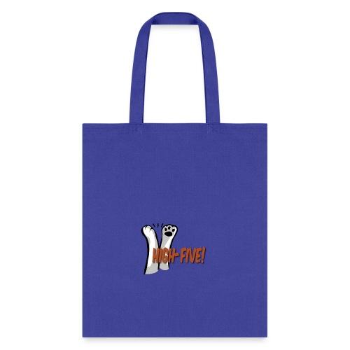 hi5 paws - Tote Bag