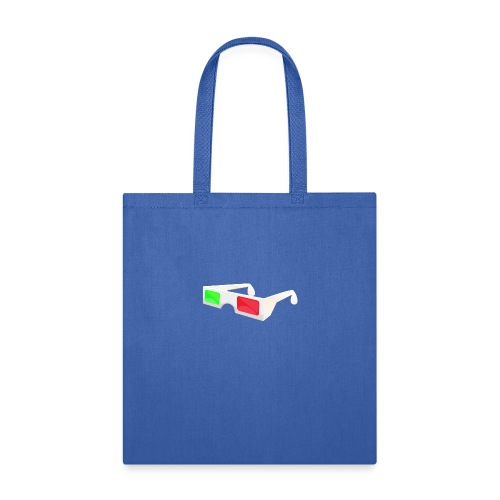 3D red green glasses - Tote Bag