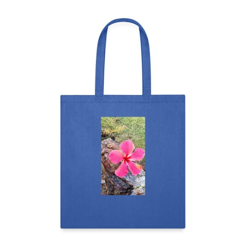 Pink Beach Flower - Tote Bag