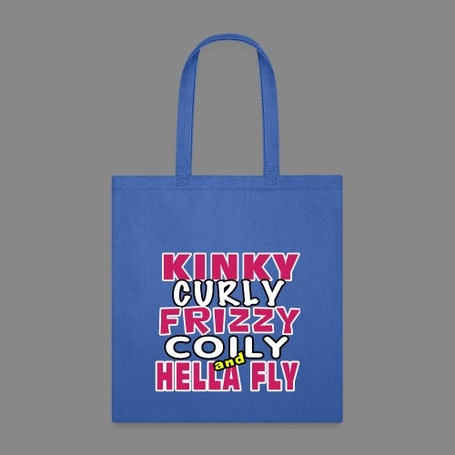 Kinky Curly Frizzy - Tote Bag