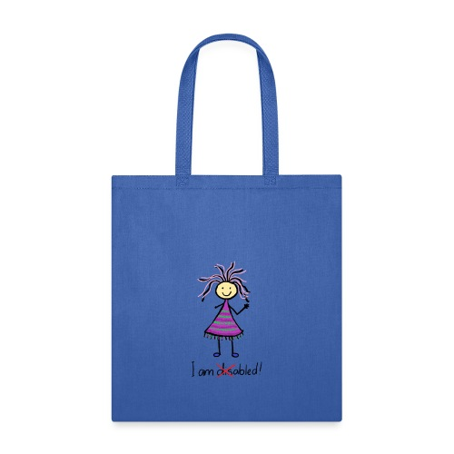 Kid with disability - I am able! Limb difference 2 - Tote Bag